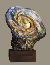 Harry Powers Homages Cast bronze, acrylic paint