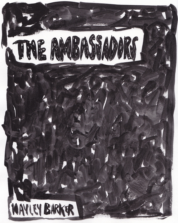 HAYLEY BARKER The Ambassadors, Carl & Sloan Contemporary, 5/2016 Gouache on paper