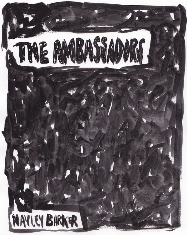 "The Ambassadors, Carl & Sloan Contemporary, 5/2016 Cover from zine, ""The Ambassadors"""