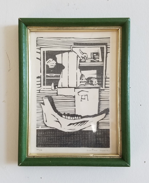 Heather Swenson ARCHIVE SALE Woodcut