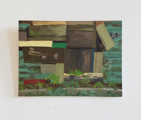 Heather Swenson ARCHIVE SALE Oil on wood