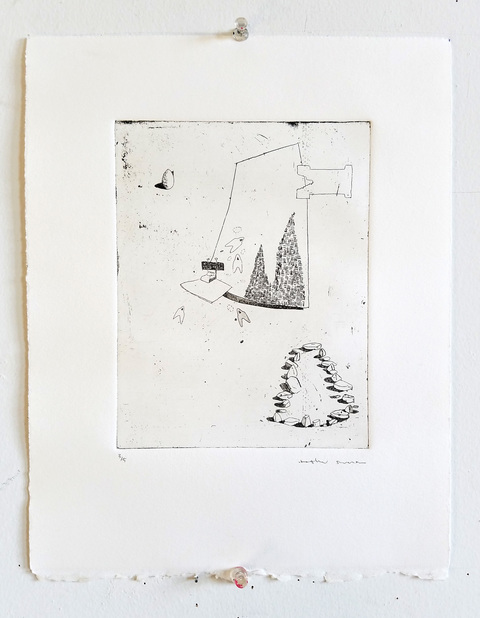 Heather Swenson ARCHIVE SALE Etching