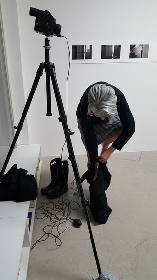 heather sheehan video + performance Claudia Weil Galerie II, Augsburg, Germany