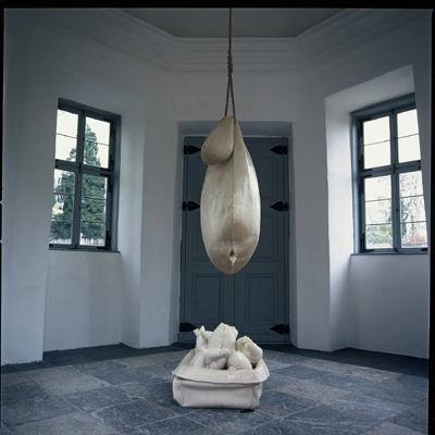 heather sheehan installation + object Pavilion Schloss Molsberg, Westerwald, Germany, 2000