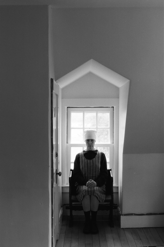 heather sheehan Confessions of a Bishop's Housekeeper Self-Portrait B&W 35 mm Film Photography