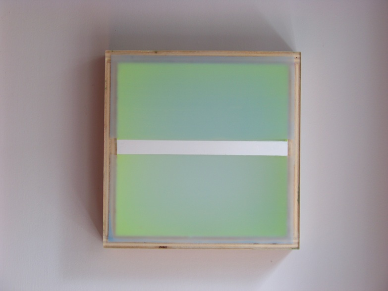 RECENT PAINTINGS Divided Light (Chartreusse) (2008)