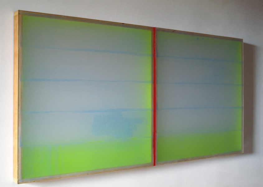 PAINTINGS Greener Pastures (2009-2012)