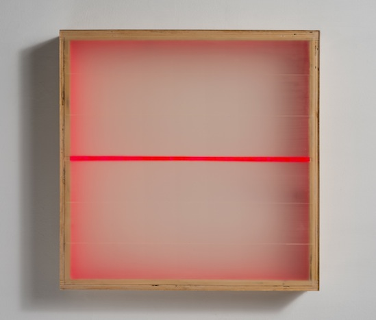 PAINTINGS Divided Light (Cerise) (2009)
