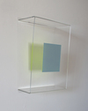 RECENT PAINTINGS Plexiglas, enamel, Pantone paper