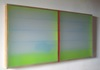 RECENT PAINTINGS Plexiglass, birch, enamel, aluminum, beeswax, pigment