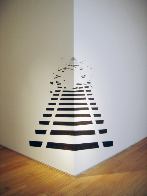 Anamorphic Installations Off Track