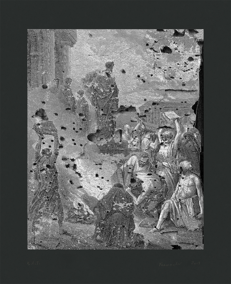 Prints Ephesus Book Burning