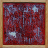 mind BODY | 2D | 1 Oil paint, bleached beeswax on plywood; red oak frame