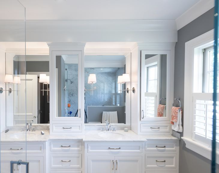 Heidi Condon Residential Design                                                                                  Cohasset, Hingham, Scituate, Duxbury Bathrooms