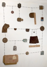 H E I D I   P O L L A R D Wall Reliefs and Sculpture Tin and aluminum cans, wire, cardboard, enamel paint
