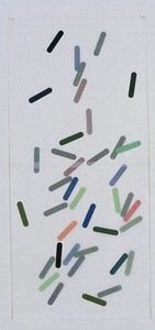 Helen Ireland Archive 3 Paper cuts Japanese paper / Gouache on paper