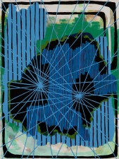 Henry Samelson Paintings 2013 enamel and acrylic on canvas