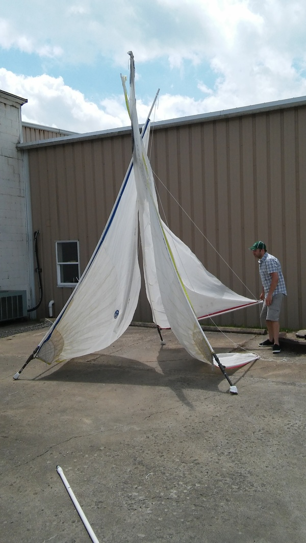 Sailcloth Art Collaborators Faul Fabricating