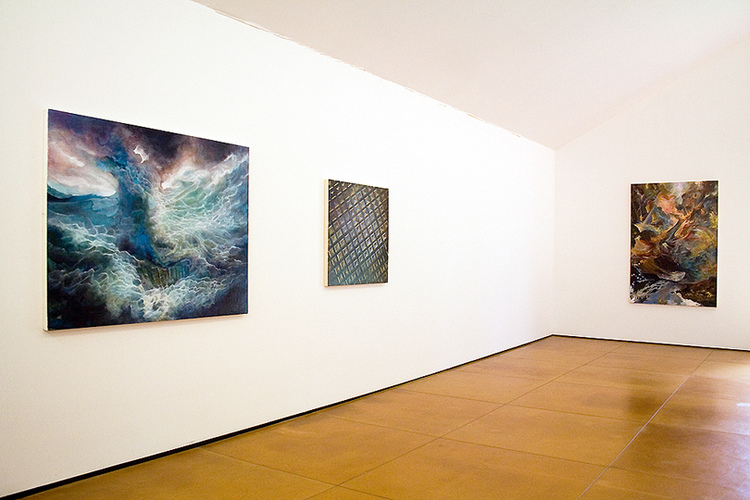 selected works 2008 - 2014 Lands Not Lived In, installation view, Devin Borden Hiram Butler Gallery, Houston, Texas