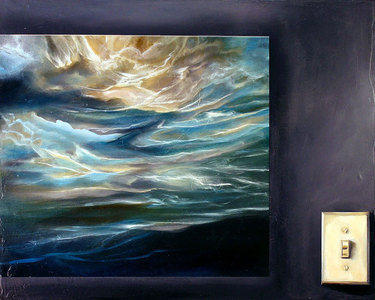 Arctic Seascape With Light Switch