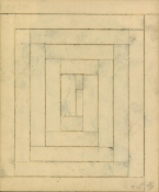 HJ BOTT  BEFORE DoV; earlier than March 7, 1972   charcoal and graphite on masking tape on paper