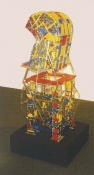 HJ BOTT 	SCULPTURE, DoV vintage and new Erector™ set parts