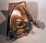 HJ BOTT 	SCULPTURE, DoV patinated and burnished silicon bronze