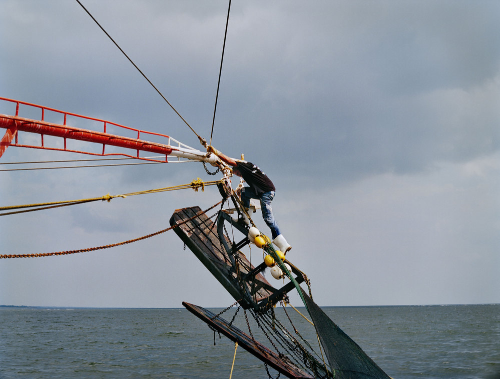 LOW COUNTRY Shrimping, 2013, C-print