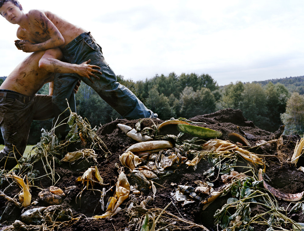PIONEER VALLEY Compost II, 2013, C-print.