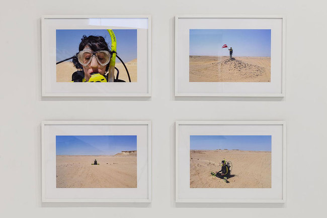 HOPE GINSBURG Breathing on Land: Zekreet, Qatar, 2015