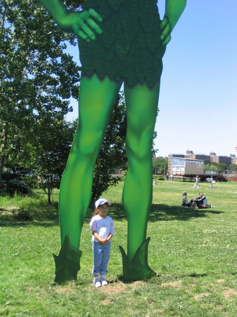 HOPE GINSBURG Jolly Green Giant, 2004
