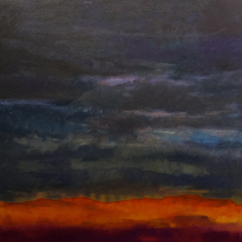 Howard Nathenson Fine Art  Skyscapes oil on canvas