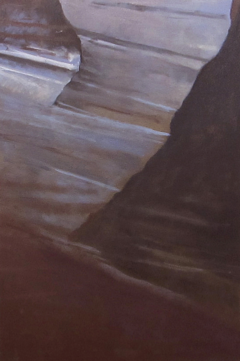 Howard Nathenson Fine Art  Antelope Canyon paintings oil on canvas