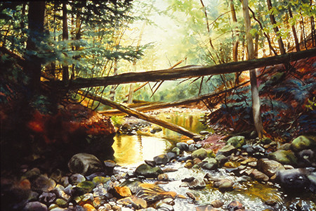 Hulsey Trusty Studios Archived Paintings Watercolor