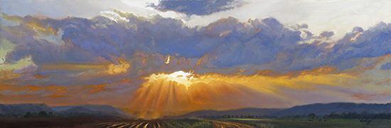 Hulsey Trusty Studios Archived Paintings Oil on Linen Canvas