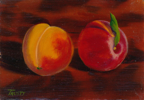 Hulsey Trusty Studios Small Paintings  Oil