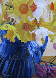 HULSEY TRUSTY STUDIOS Archived Paintings Oil on Linen Panel