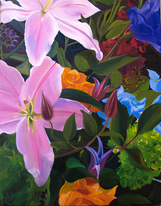 HULSEY TRUSTY STUDIOS Archived Paintings Oil
