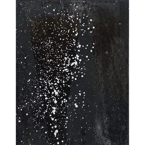 ISOLDE KILLE paintings COSMIC SERIES Paint on canvas