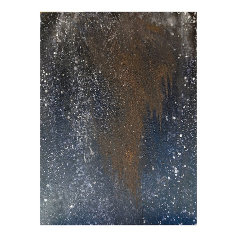 ISOLDE KILLE paintings COSMIC SERIES Oil Paint, Earth on Linen