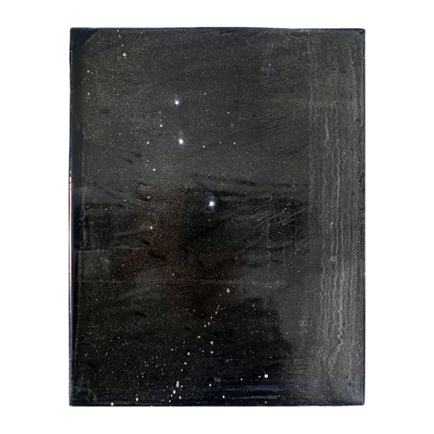 ISOLDE KILLE paintings COSMIC SERIES Oil paint on wood