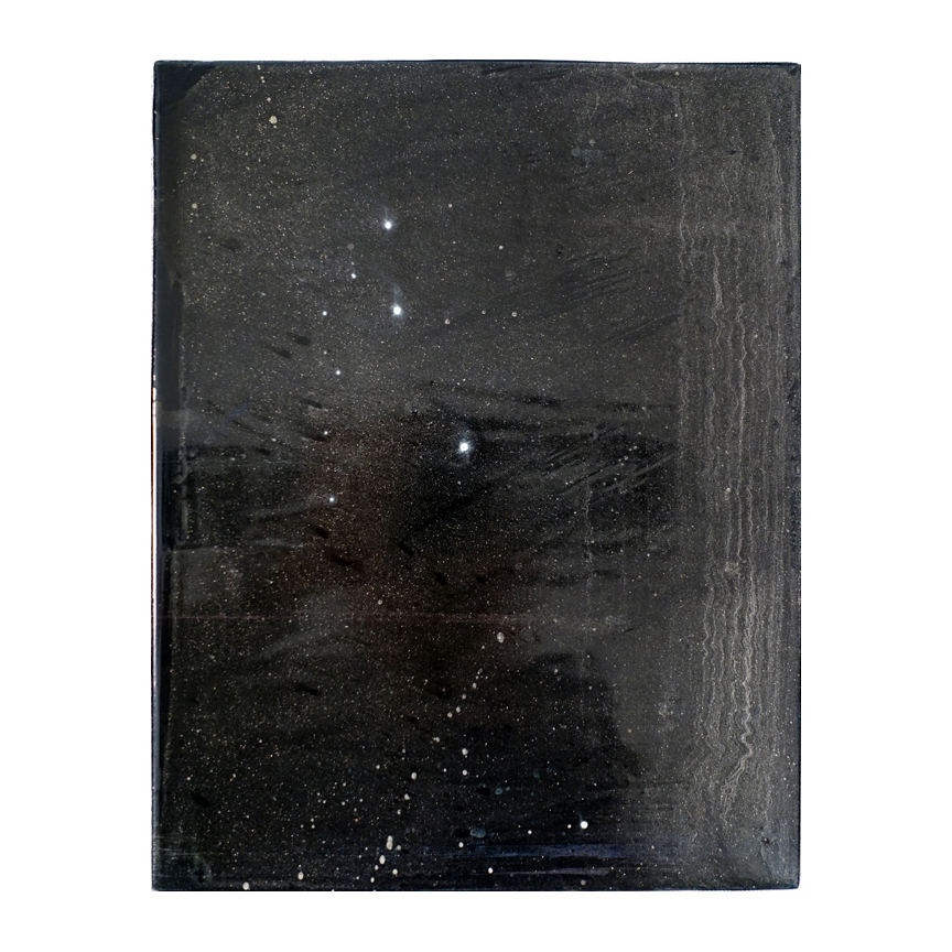 COSMIC SERIES Star dust 1 / series of 4 individual paintings