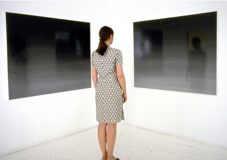ISOLDE KILLE COSMIC SERIES 32 x 48 inch (each) diptych