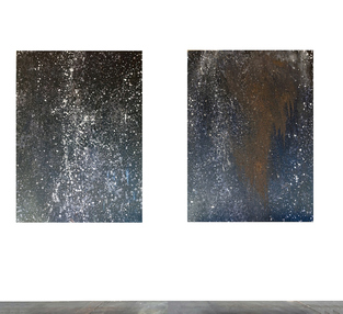 "COSMIC SERIES Without + Within, 62"" x 42"" (each)"