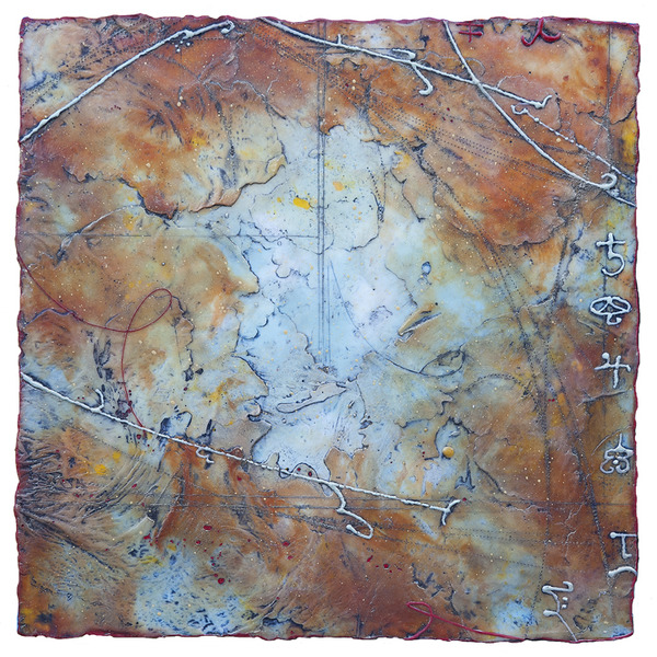 Imogen Gallery Elise Wagner Encaustic and oil on panel