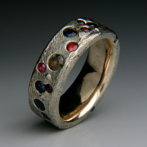 Imogen Gallery Robert & Chantay Curnow Copper, Sterling Silver, Sapphires & Ruby