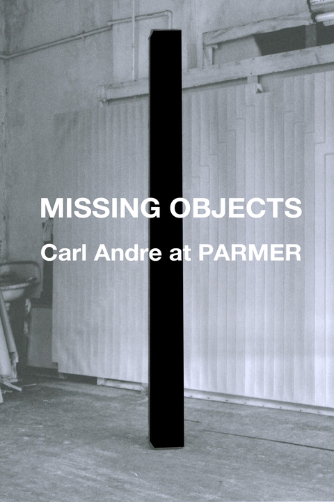 Heather Bursch Missing Objects: Carl Andre at PARMER