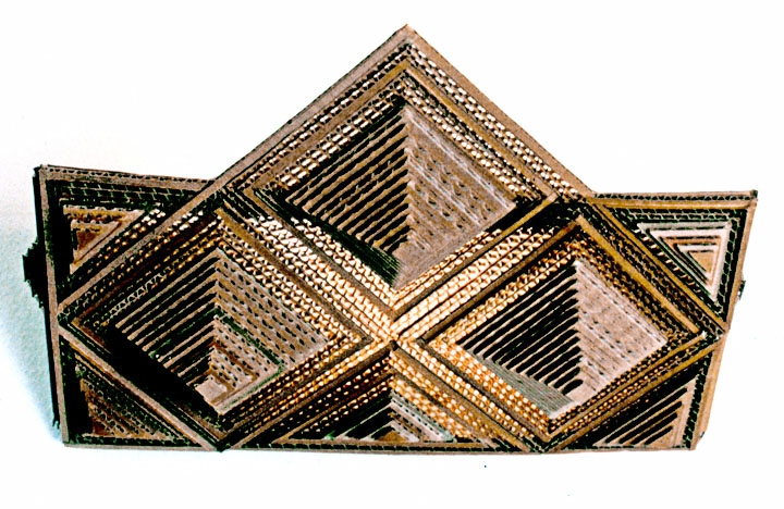 Ivan Sherman Corrugated Crafts Hand-cut corrugated