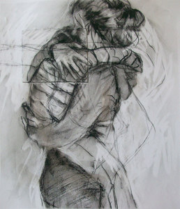 JACKIE REEVES Drawing Charcoal on paper