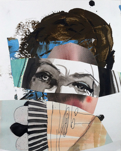 JACKIE REEVES 2014-2017 Mixed media collage